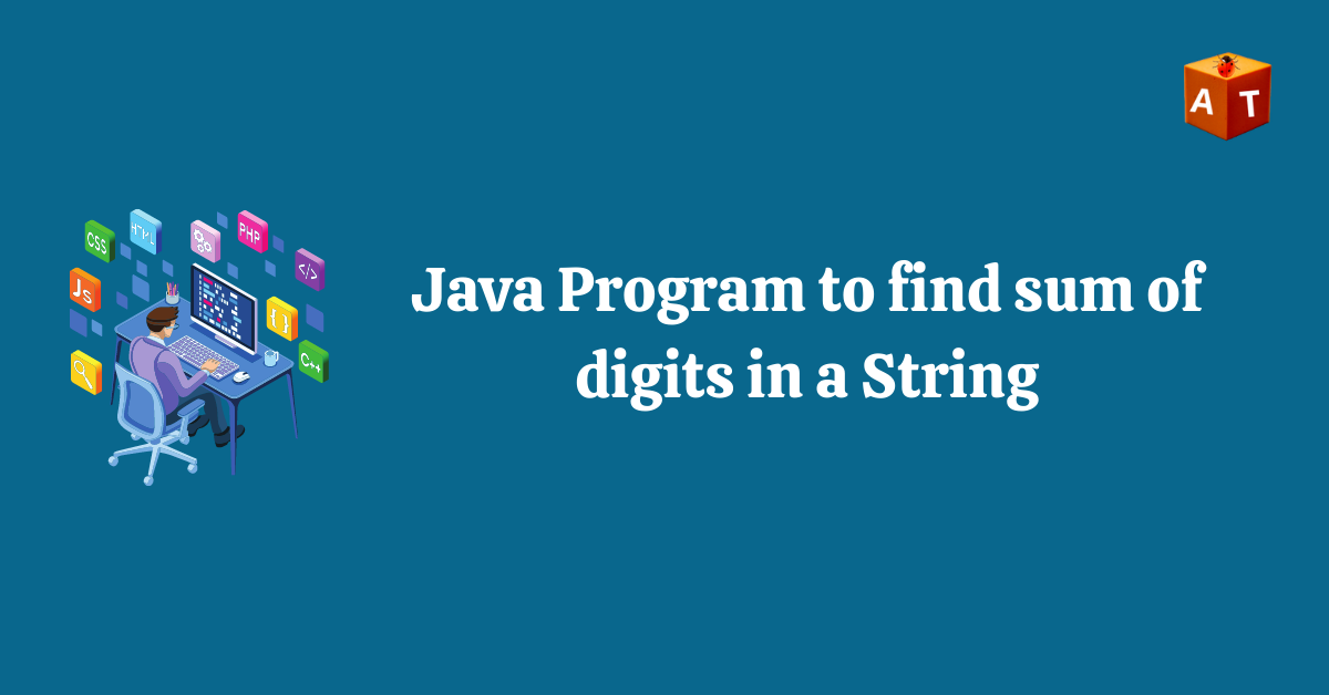 How to sum digits in a String in Java
